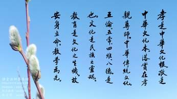 孝是中華文化根